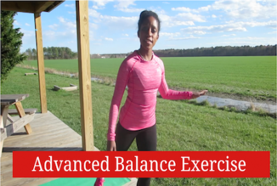 Knee Injury Rehab: Advanced Balance