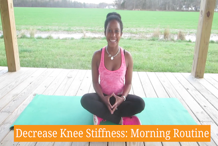 How To Decrease Knee Stiffness: Morning Routine