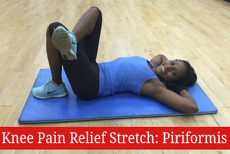Stretch To Relieve Knee Pain: Piriformis Muscle