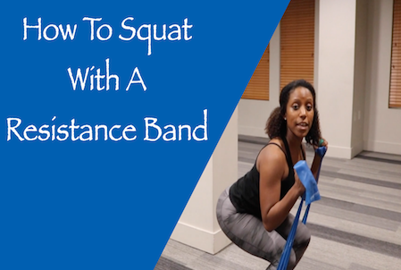How To Squat With Resistance Bands