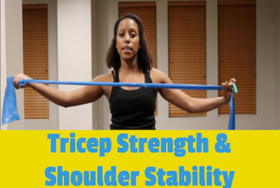 Tricep Strength & Shoulder Stability